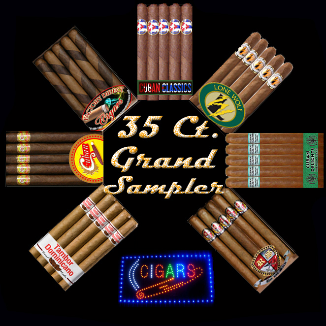 Top Drawer Cigar Samplers...Free Shipping